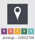 方角 記号 指示棒のイラスト 10932706
