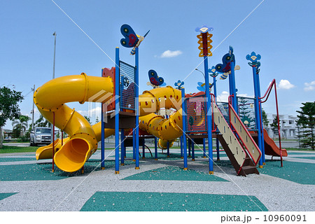 Children Playground in Serembanの写真素材 [10960091] - PIXTA