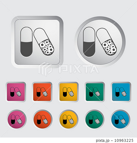 Pills icon.のイラスト素材 [10963225] - PIXTA