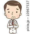 医師 困る 人物のイラスト 10967537