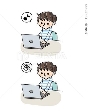 男性:パソコン 10972999