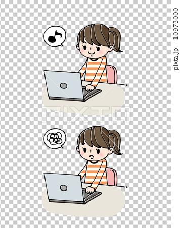 女性:パソコン 10973000