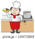 料理人 ベクター コックのイラスト 10973869