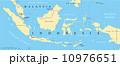 マップ インドネシア 地形のイラスト 10976651
