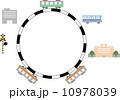 山手線 路線図 ベクターのイラスト 10978039