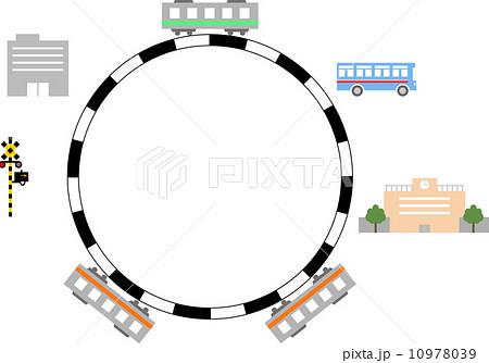 電車 通勤 通学 10978039