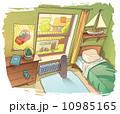空間 部屋 玩具のイラスト 10985165