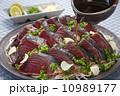 カツオのタタキ 刺身 和食の写真 10989177