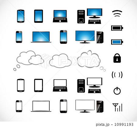 スマートフォン アイコン 10991193
