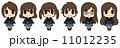 女子学生(茶髪) 11012235
