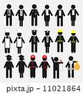 記号 経営者 アイコンのイラスト 11021864
