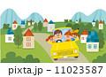 家族でドライブ 11023587