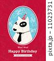 Dog Cartoon Birthday card design 11023731