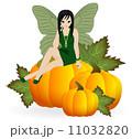 象徴 妖精 女子のイラスト 11032820