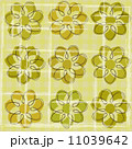 花柄 グラフィック 素材のイラスト 11039642