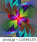 フローラル 植物相 フラクタルのイラスト 11046135