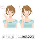 女性 表情 セット 11063223