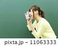 叫ぶ 人物 笑顔の写真 11063333
