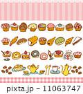 ベクター カップケーキ ケーキのイラスト 11063747