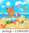 かに カニ 蟹のイラスト 11064399