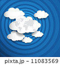 ネットワーク 通信 マップのイラスト 11083569