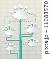 概念 クラウド ネットワークのイラスト 11083570