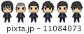 男子学生(黒髪) 11084073