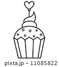 カップケーキ 焼いた おいしいのイラスト 11085822