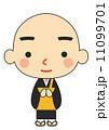 僧侶 お坊さん 住職のイラスト 11099701