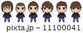 男子学生(茶髪) 11100041