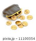お札 札 紙幣のイラスト 11100354