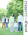 3世代 新緑 公園の写真 11106912