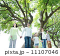 3世代 親子 新緑の写真 11107046