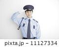 敬礼 警備員 警備の写真 11127334