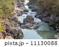 厳美渓 渓流 渓谷の写真 11130088