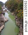 渓流 厳美渓 河川の写真 11130092