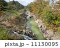 渓流 厳美渓 河川の写真 11130095