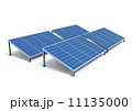 ソーラーパネル 太陽光発電 太陽光パネルのイラスト 11135000