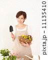 女性 園芸 ガーデニングの写真 11135410
