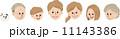 家族フェイス 11143386