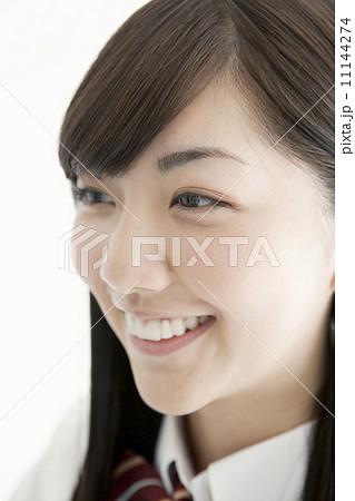 女子高生の顔アップ 11144274