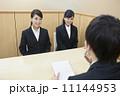 ビジネスウーマン 面接 就職活動の写真 11144953