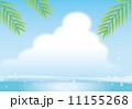 空と海の背景 11155268
