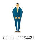 人物 男性 ビジネスマンのイラスト 11158821