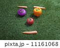 野菜で作った顔 11161068