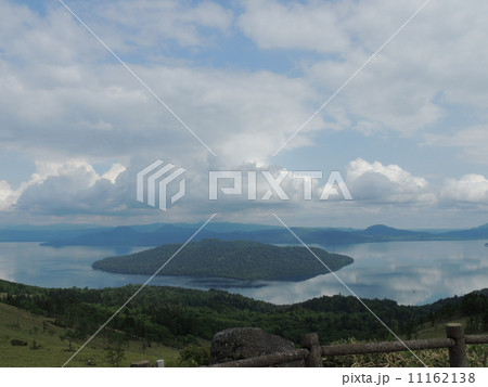 美幌峠と屈斜路湖 11162138