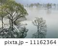霧の山形白川湖 11162364