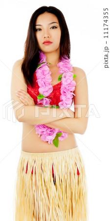 Attractive asian girl 20 years old shot in studioの写真素材 [11174355] - PIXTA