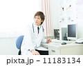 白衣 医療スタッフ 男性の写真 11183134