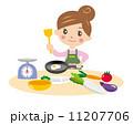 料理するママ 11207706